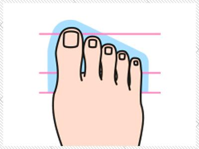 Ägyptischer Fuß