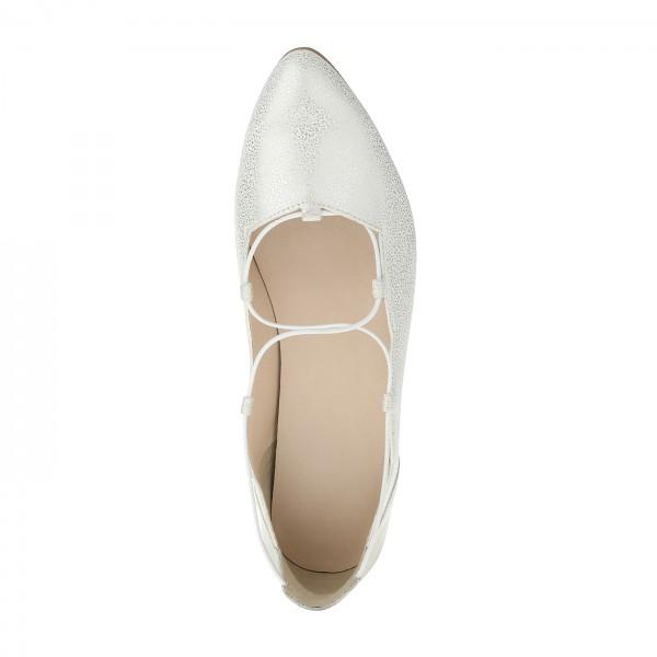 Ballerina Maida weiß