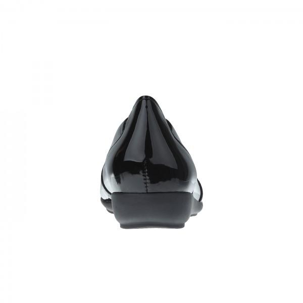 Mokassin Cristal schwarz