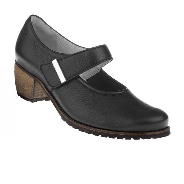 tessamino | Damen Pumps Carolina | Hirschleder | Weite H | wechselbares Fußbett mit Lederüberzug