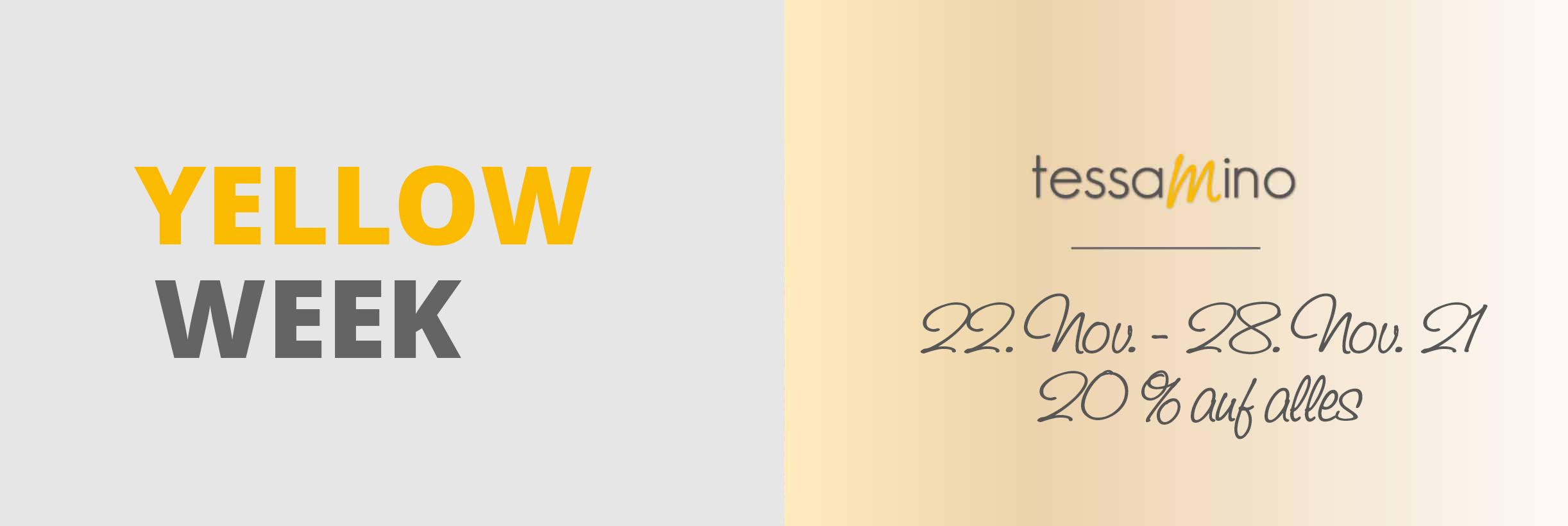 Kategoriebild Yellow Week - Code: YF21TM