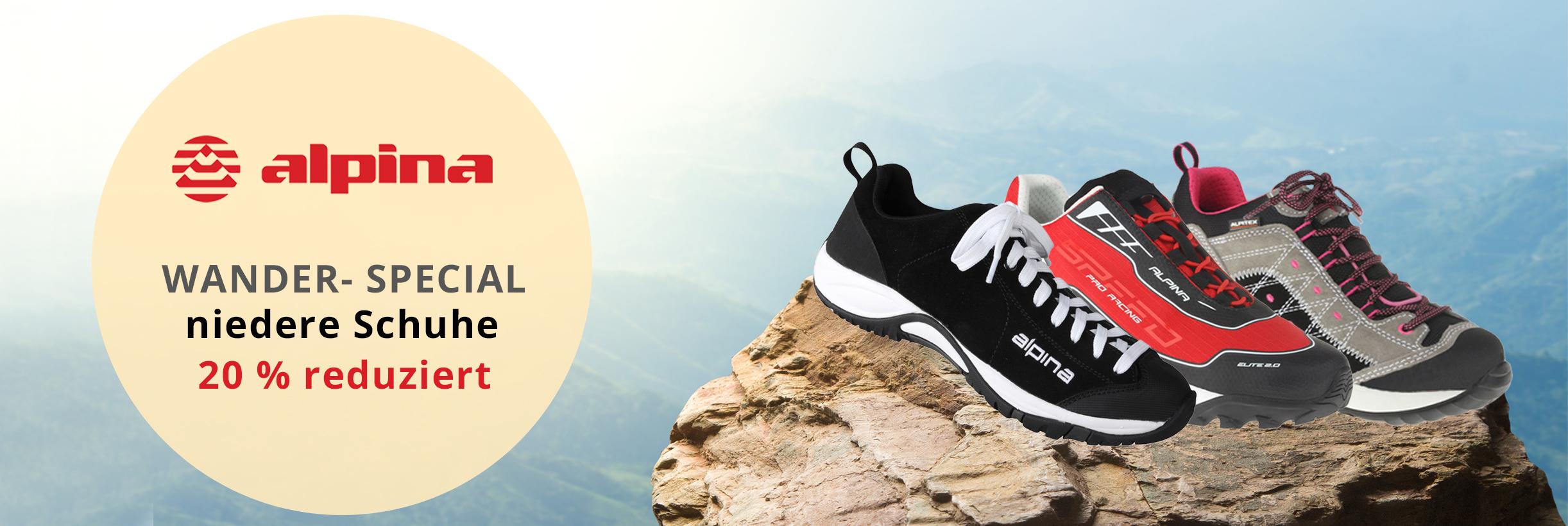 Kategoriebild Wanderwoche - niedere Schuhe