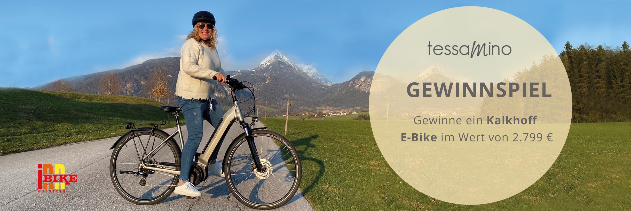 Gewinnspiel E-Bike