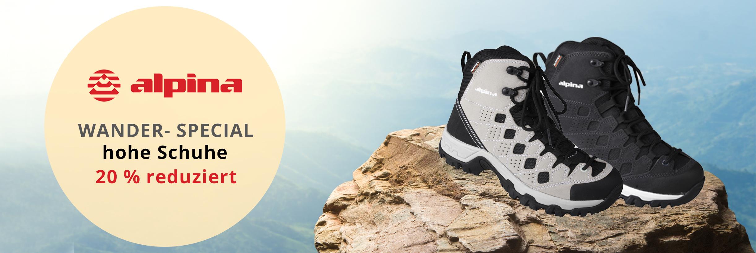 Kategoriebild Wanderwoche - hohe Schuhe