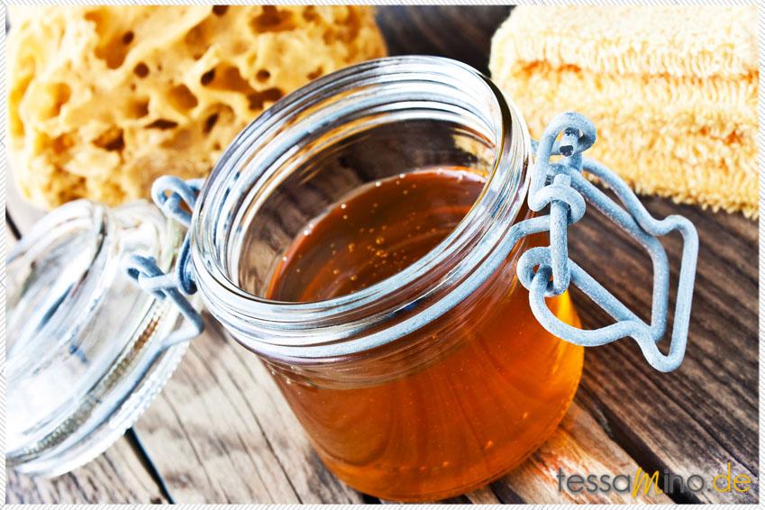 Honig gegen trockenen Füße