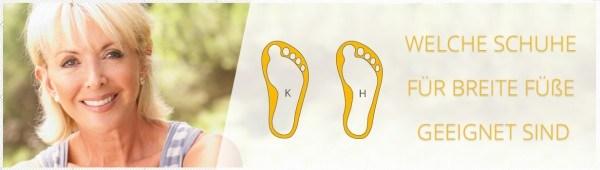 sale retailer d40f0 f9c6e ▷ Welche Schuhe für breite Füße? Jetzt informieren ...