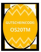 Osterei - Gutscheincode OS20TM