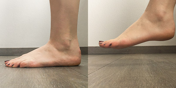 Fußweite messen
