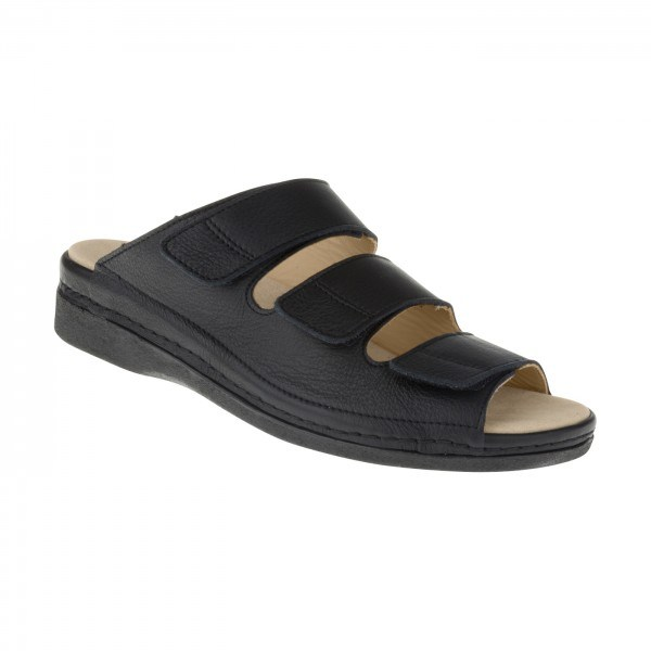 tessamino | Damen OrthopÃ?die Pantolette | Rindsleder | Weite H | wechselbares Fußbett mit LederÃ?berzug