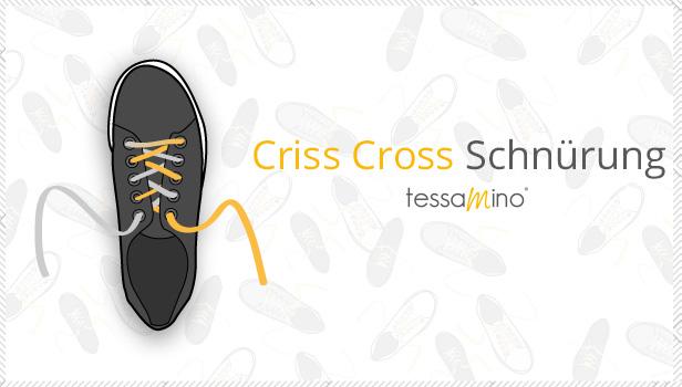 Criss Cross Schnürung