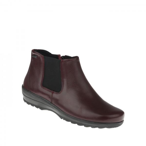 tessamino | Damen Stiefeletten | Rindsleder | Weite H & K | wechselbares Fußbett mit WarmfutterÃ?berzug