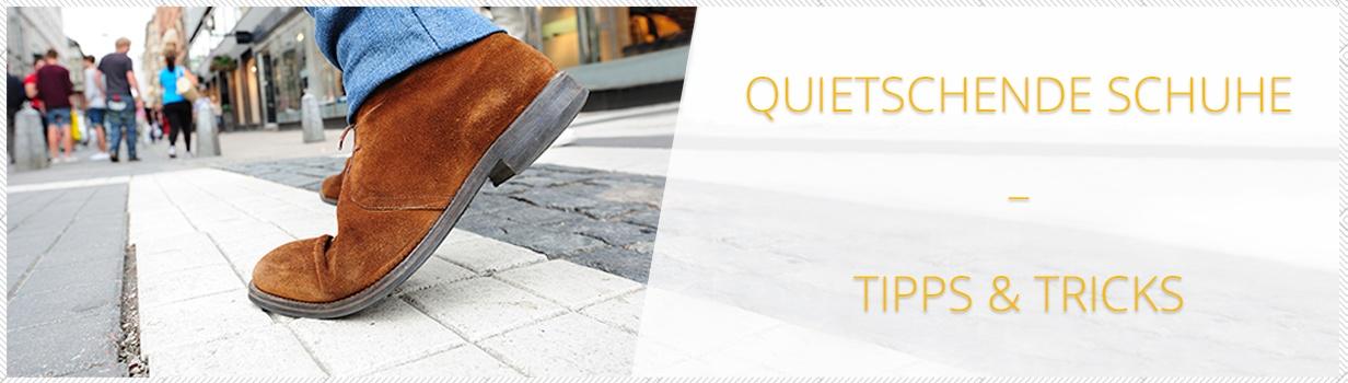 Quietschende Schuhe
