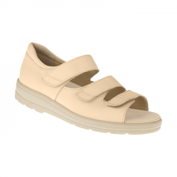 tessamino | Damen OrthopÃ?die Sandalen | Rindsleder | Weite J | wechselbares Fußbett mit LederÃ?berzug