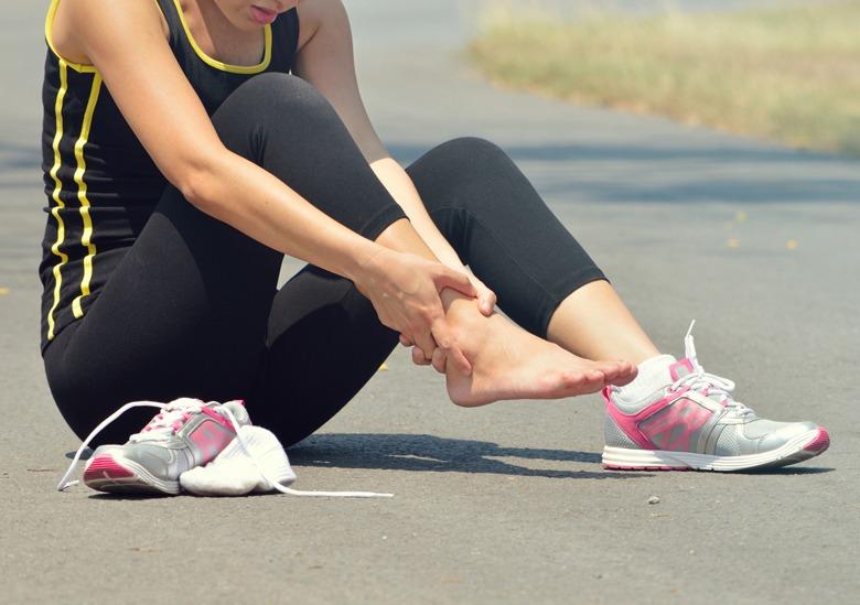 Fußschmerzen beim Sport