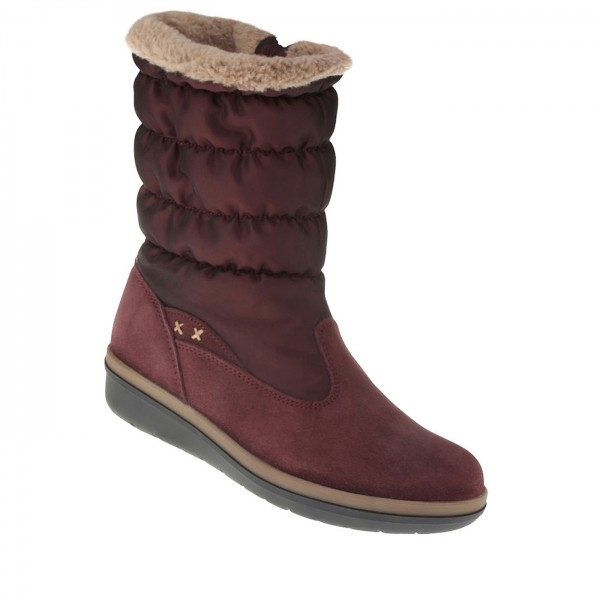 Stiefel Aneira rot
